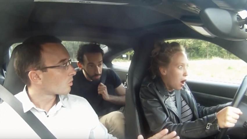 Diesen Fahrschülern macht Porsche fahren überhaupt keinen Spaß