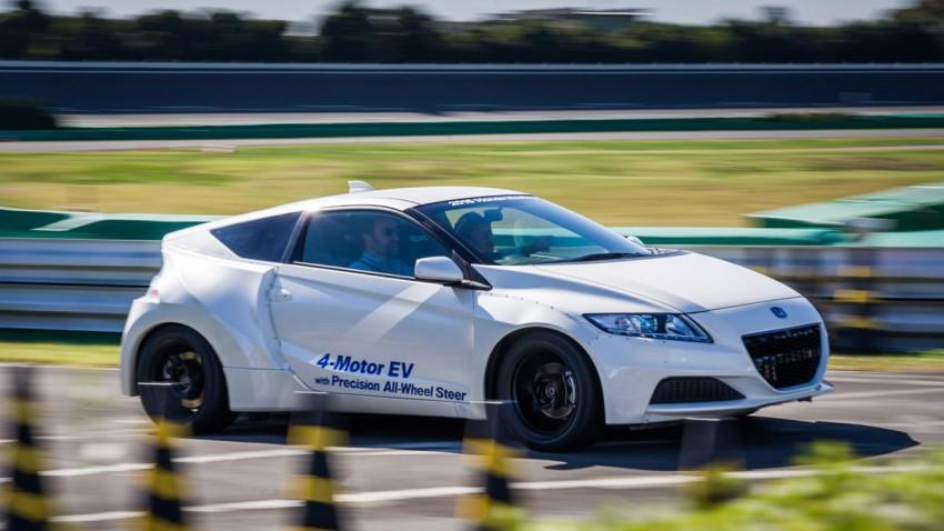 Honda 4 Motor EV, Konkurrenz für Tesla und i3?