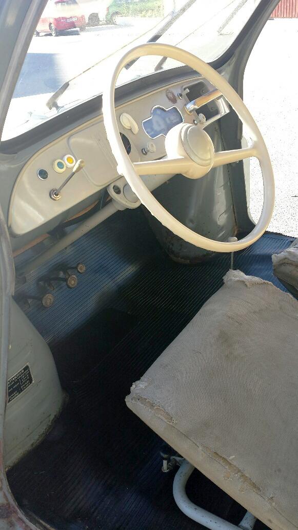 Renault 4 CV 1954 zu verkaufen 4