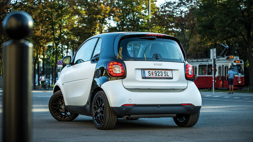 Spaß-o-Mat: Smart fortwo 52 kw proxy twinamic