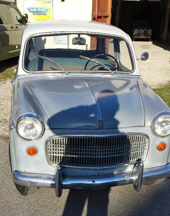 Steyr Fiat 1100R 1958 8