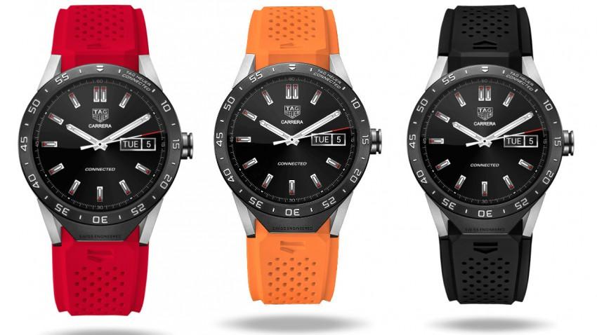 Luxus-Smartwatch von TAG Heuer und Intel