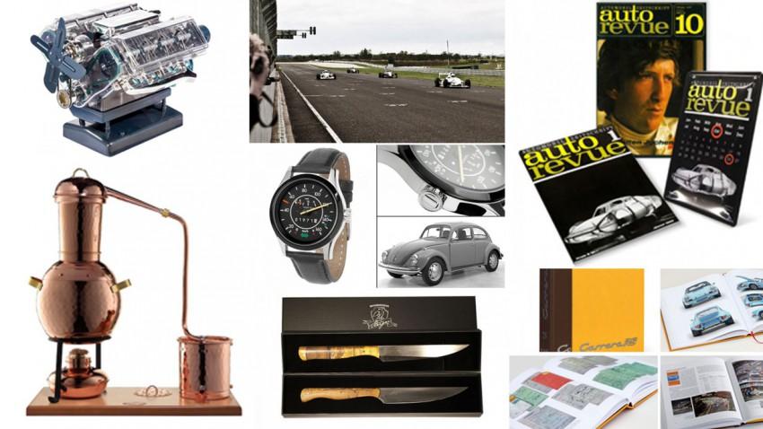 7 Geschenksideen für Auto-Liebhaber