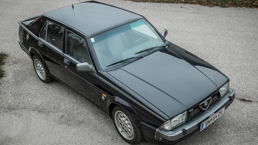 Kaufberatung Alfa Romeo 75 turbo oben front seite