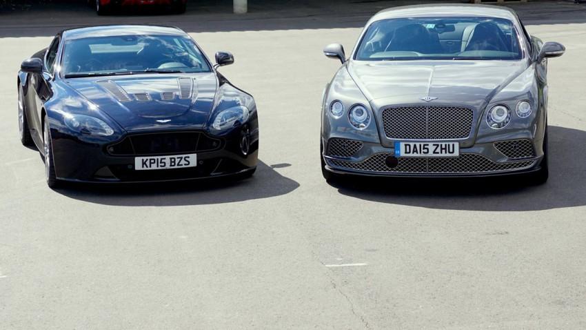 Supertest 2015: Aston Martin Vantage V12 S vs. Bentley Continental GT Speed