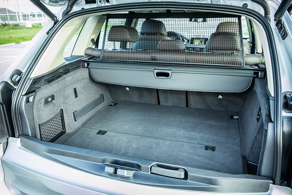 bmw x5 edrive 2015 kofferraum innen laderaum