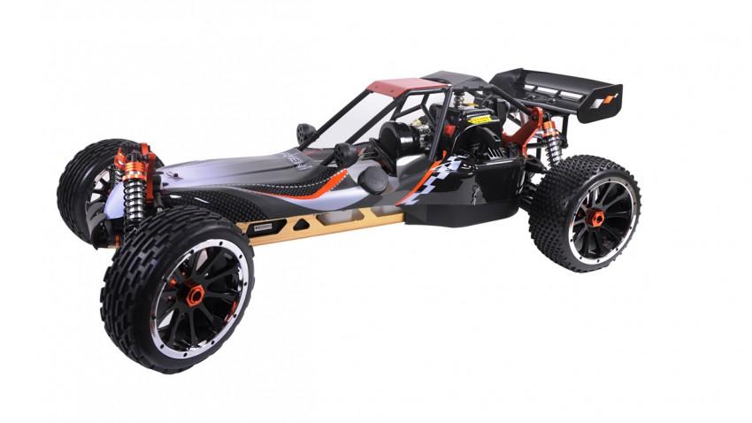 Buggy mit 2-Takt-Motor im Maßstab 1:5