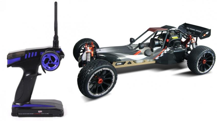 Buggy-mit-2-Takt-Motor