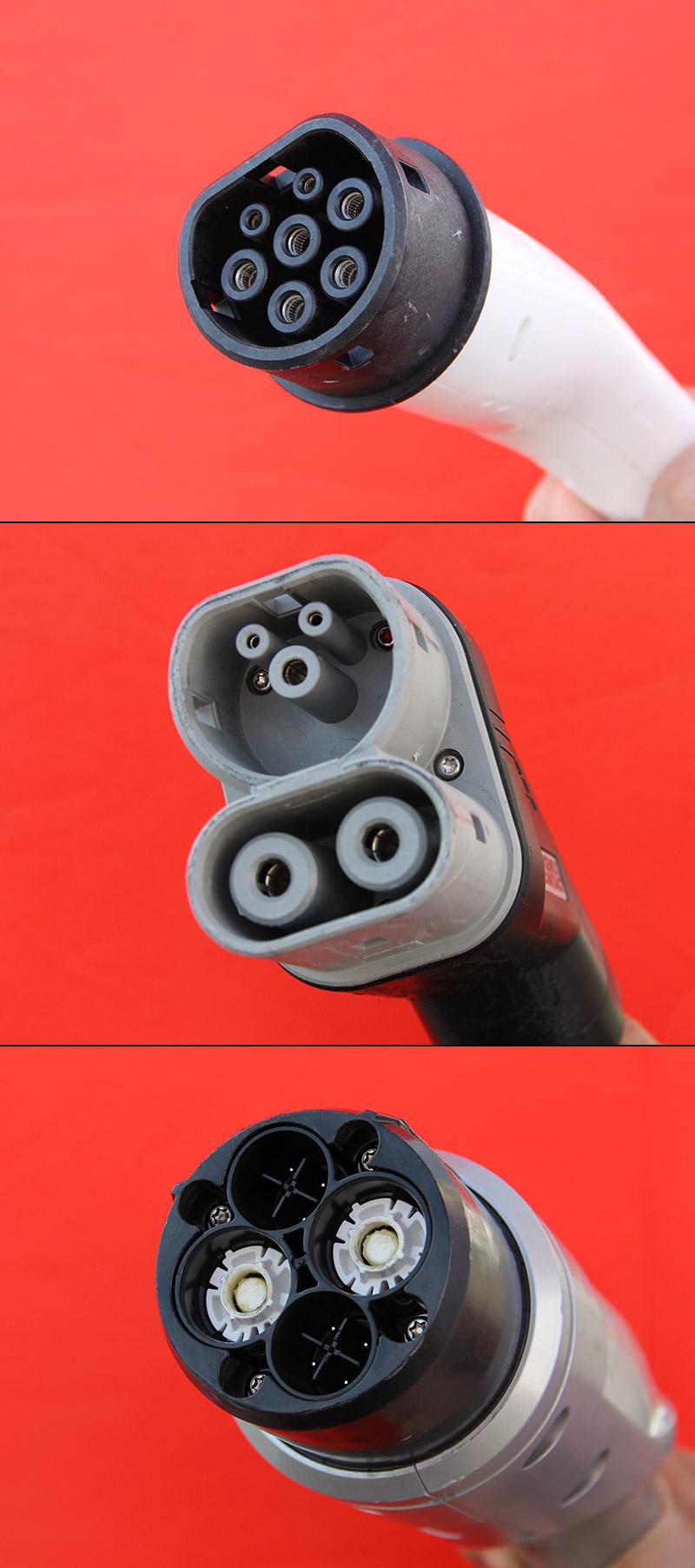 Elektroauto-Stecker-AC-chademo-wechselstrom-gleichstrom