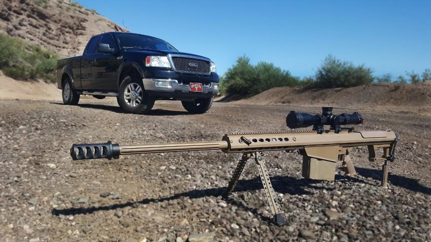 Ford F-150 vs. Sniper