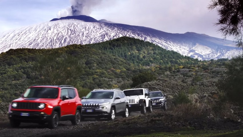 Jeep, Lebensraum Schlamm, Fluss – Off-Road