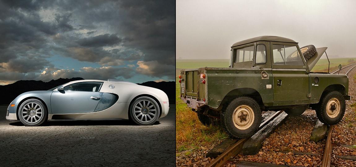 kontrastreich-bugatti-veyron-land-rover