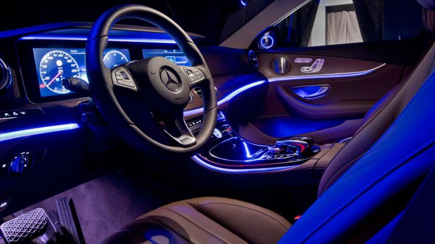 Die neue Mercedes E-Klasse, bei Aufpreis Bling-Bling