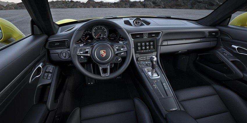 Porsche 911 Turbo MY 2016