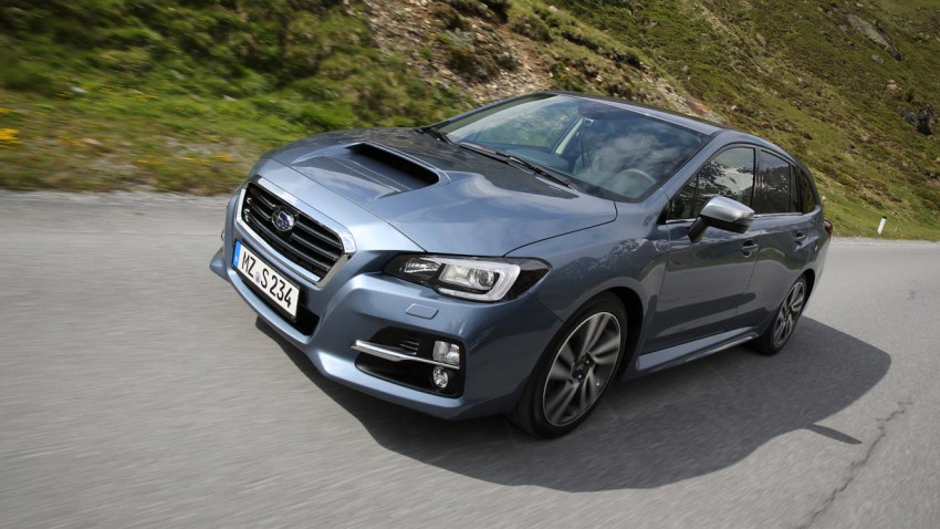 Der neue Subaru Levorg - Licht und Schatten