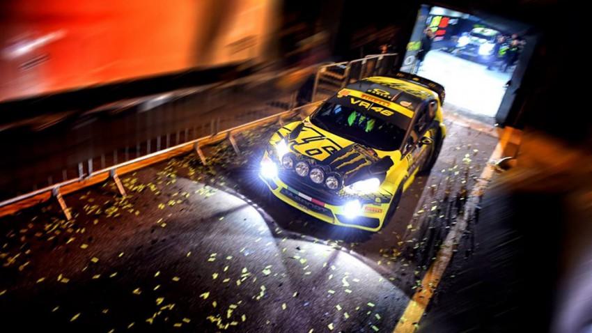 Valentino Rossi: Sieg bei der Monza Rally Show 2015