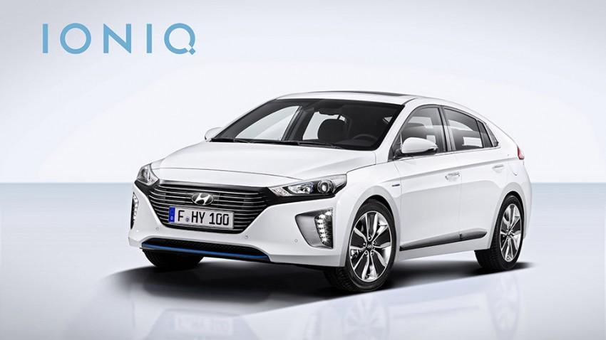 Hyundai Ioniq – Dreifacher Axel