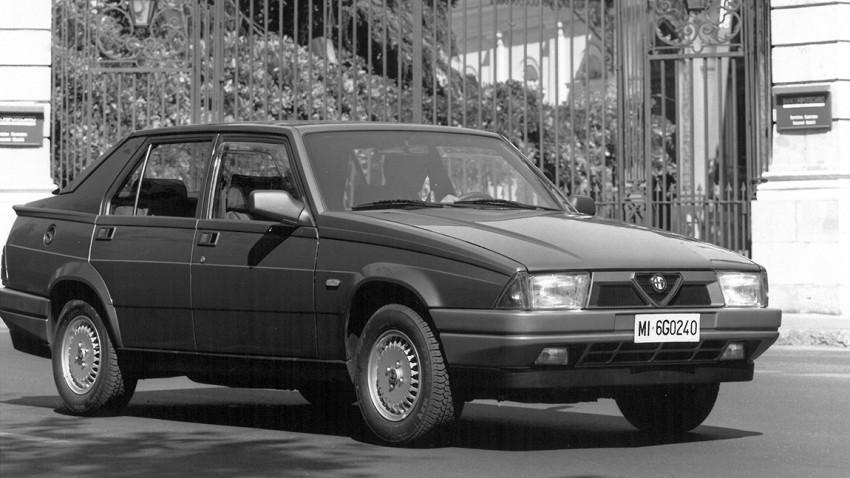 Hebet das Heck – Alfa Romeo 75