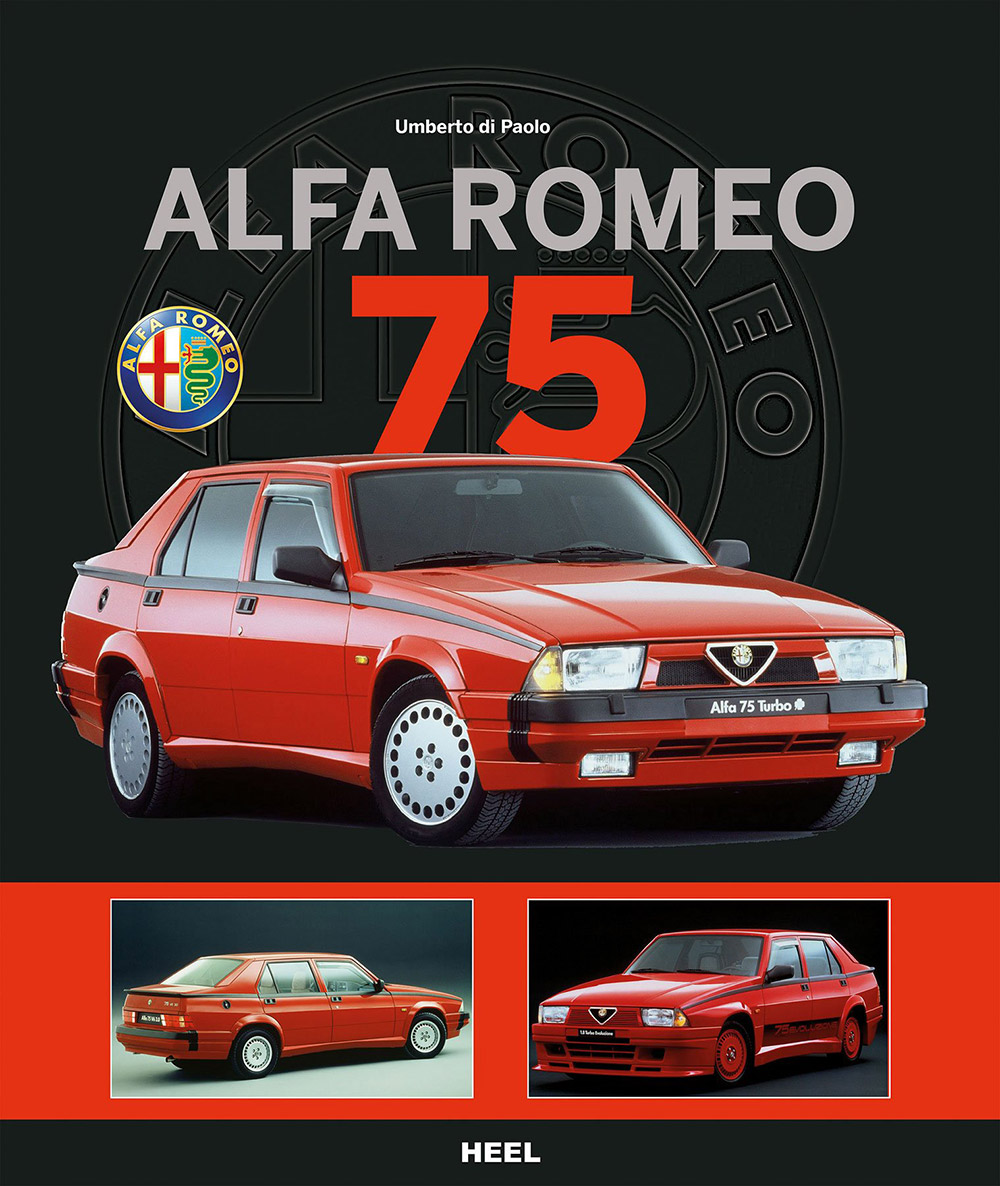 alfa romeo 75 hebet das heck. Black Bedroom Furniture Sets. Home Design Ideas