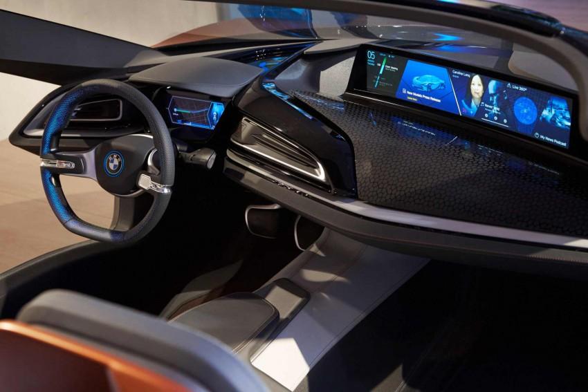 BMW i8 Spyder auf der CES 2016