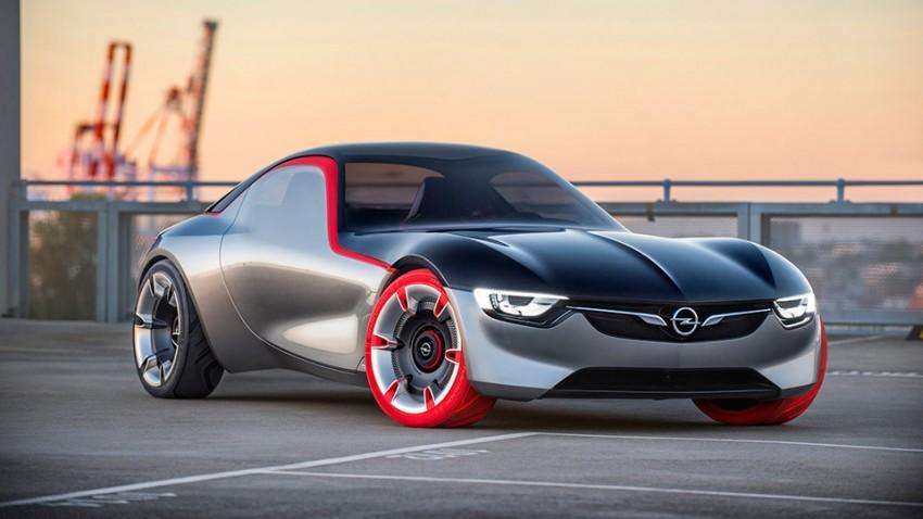 Opel GT Concept – Rotwild