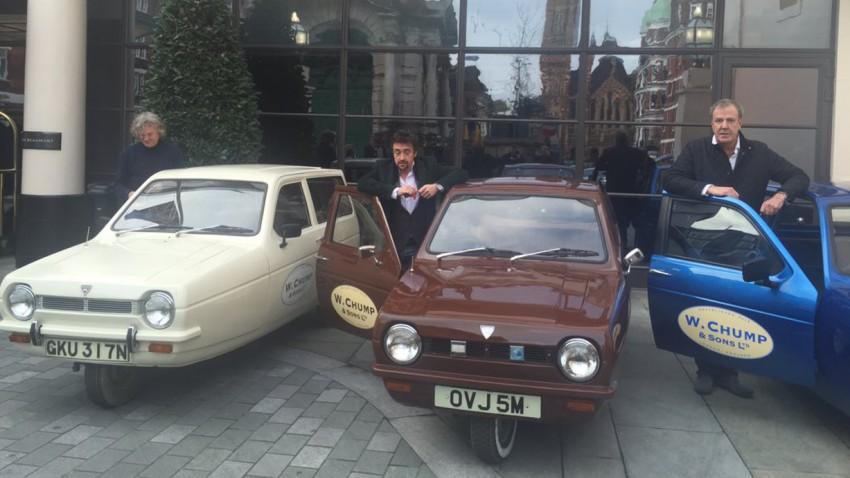 Jeremy Clarkson gesteht: Top Gear-Team manipulierte Reliant Robin