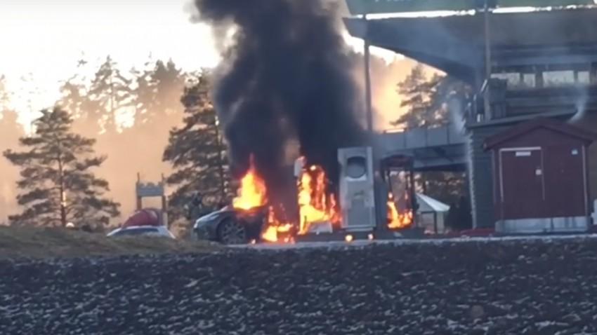 Video von brennendem Tesla Model S aufgetaucht