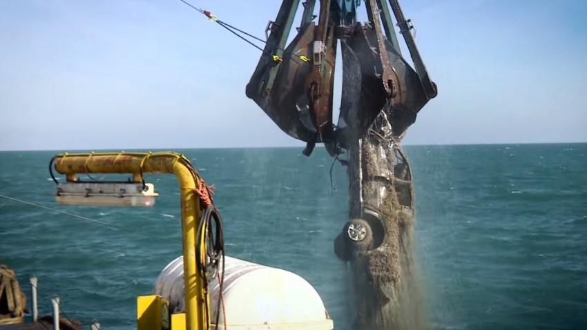So wurden 1.417 Autos vom Meeresgrund geborgen
