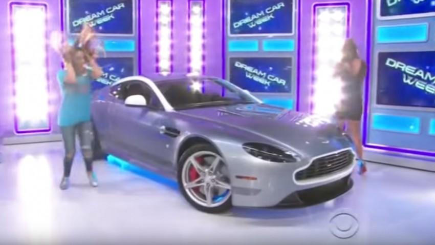 Die einzig angemessene Reaktion auf einen gewonnenen Aston Martin