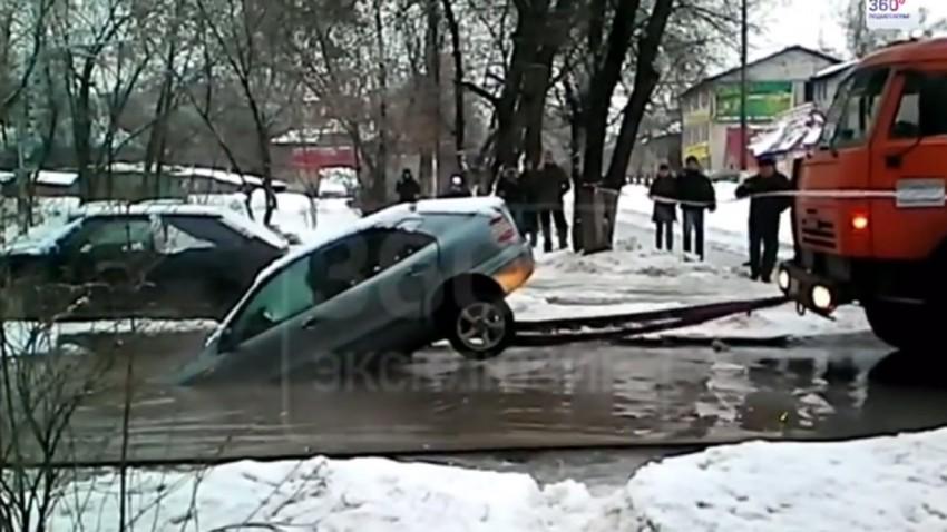 Wenn du dein Auto entzweist, dann hast du es nicht richtig abgeschleppt