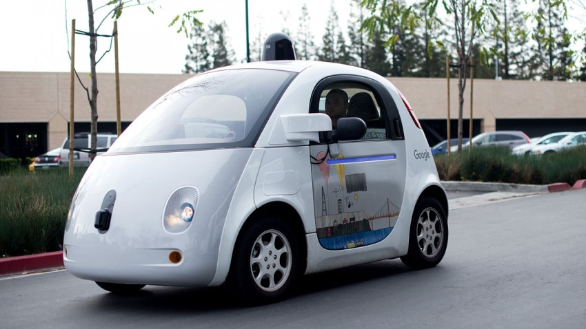 Googles selbstfahrendes Auto 2016.