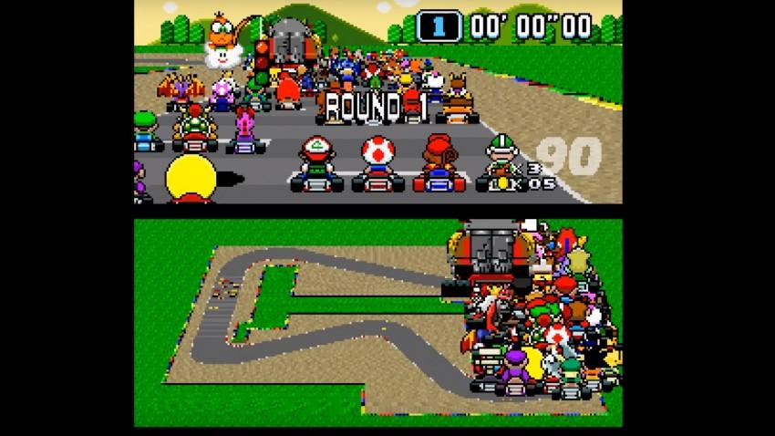 Mega-Multiplayer: Super Mario Kart mit 101 (!) Spielern