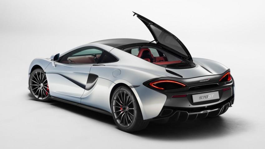 Neu: McLaren 570 GT - Die nächste Fernreise kann kommen