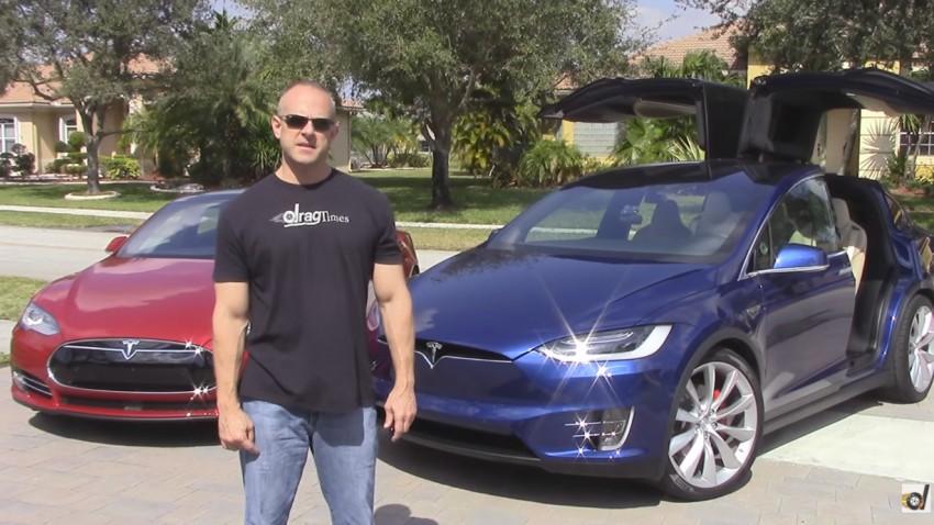 Tesla Model S P90D vs. Model X P90D