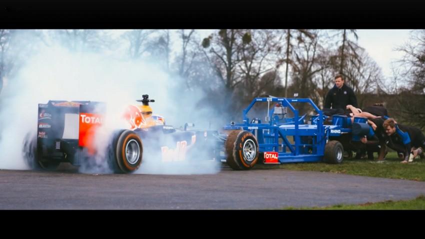 Red Bull RB8 im Scrum