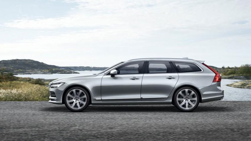 Applaus für den neuen Volvo V90!
