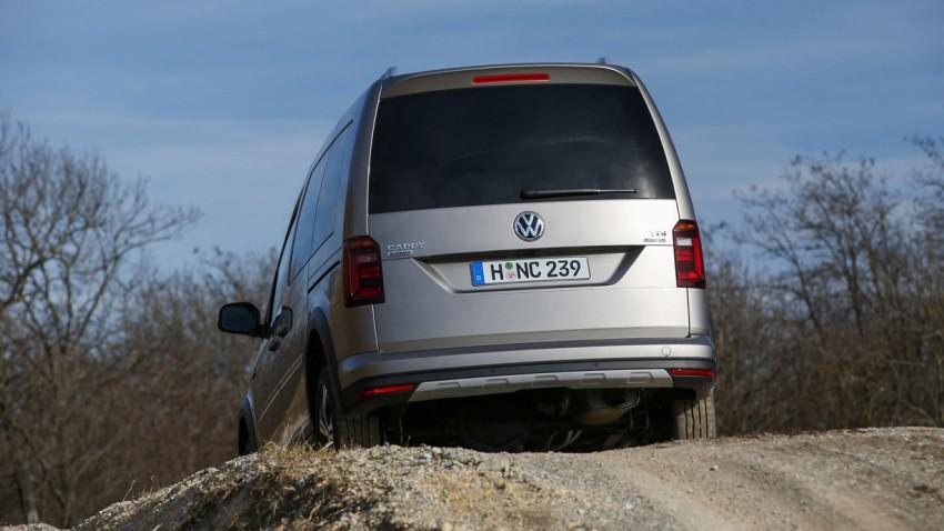 VW Caddy Alltrack, lohnt der Aufpreis?