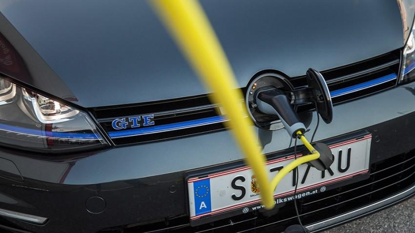 VW Golf GTE: Lohn der Undisziplin