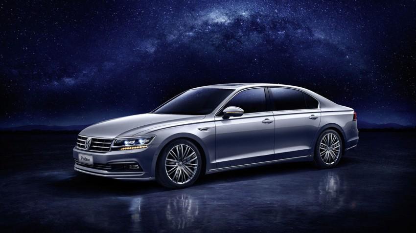 VW Phideon, ein Auto für China