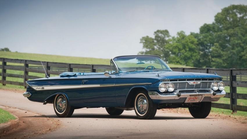 Chevrolet Impala SS 409: Erfolgreich auf der Rennstrecke, beliebt bei den Beach Boys
