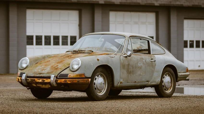 Scheunenfund mal anders: 1965er Porsche 911