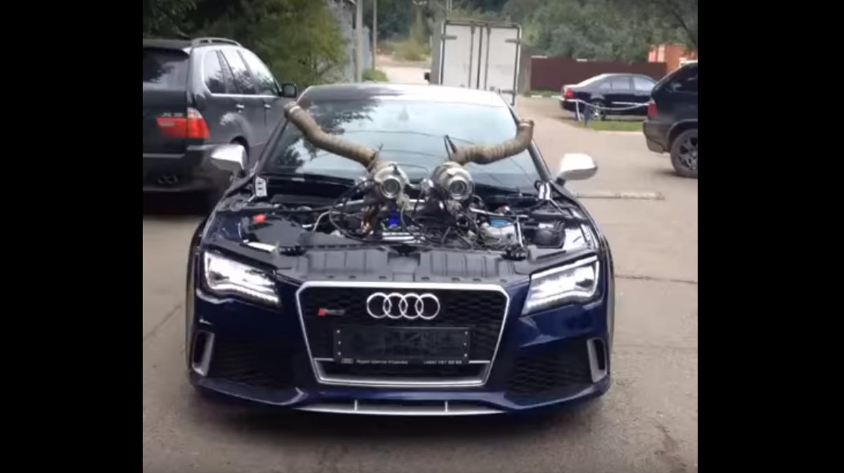 Audi Rs7 Quot Stage 10 Quot Auf Dem Drag Race