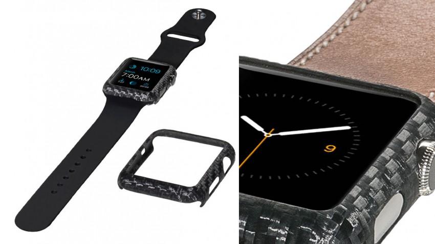 Carbon-Cover für deine Apple Watch