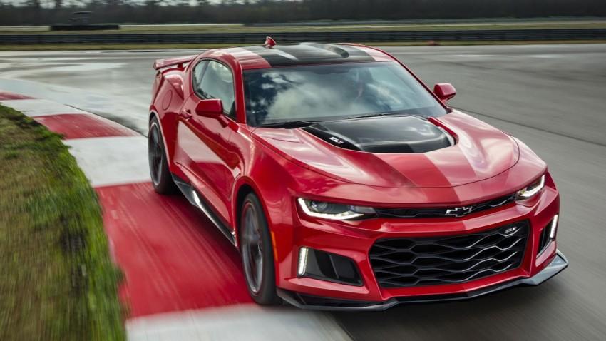 Chevrolet Camaro ZL1: Muskelspiele ohne Bräunungscreme