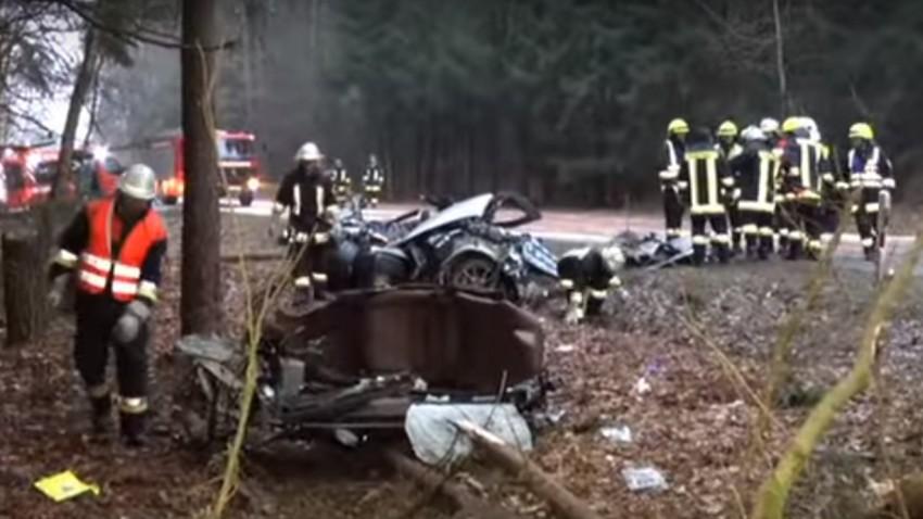 Ferrari-Fahrer überlebte Horror-Crash