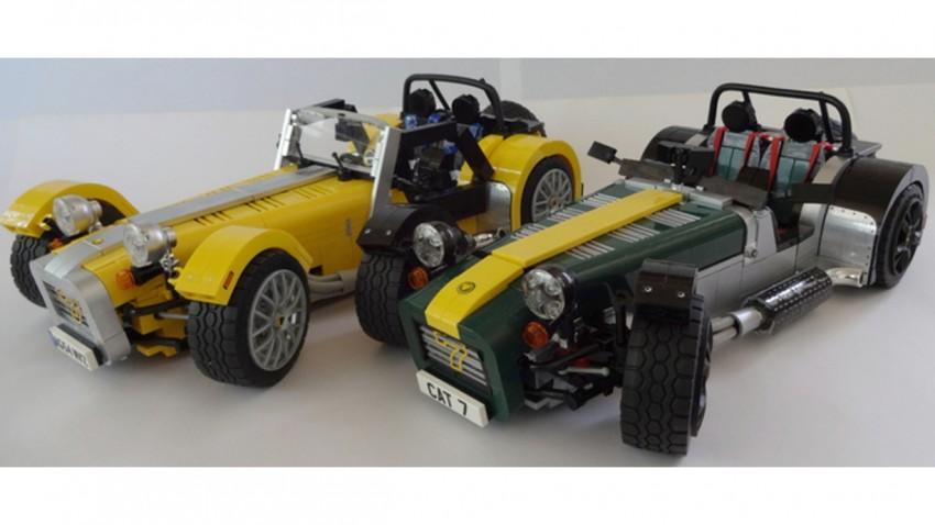 Endlich: Der Lego-Caterham Seven steht in den Startlöchern