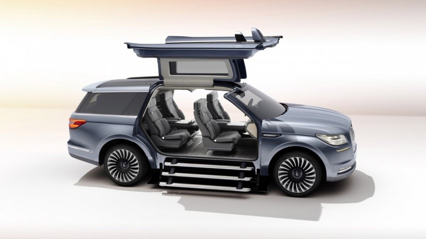 Lincoln Navigator Concept: Da sind richtig gute Ideen dabei