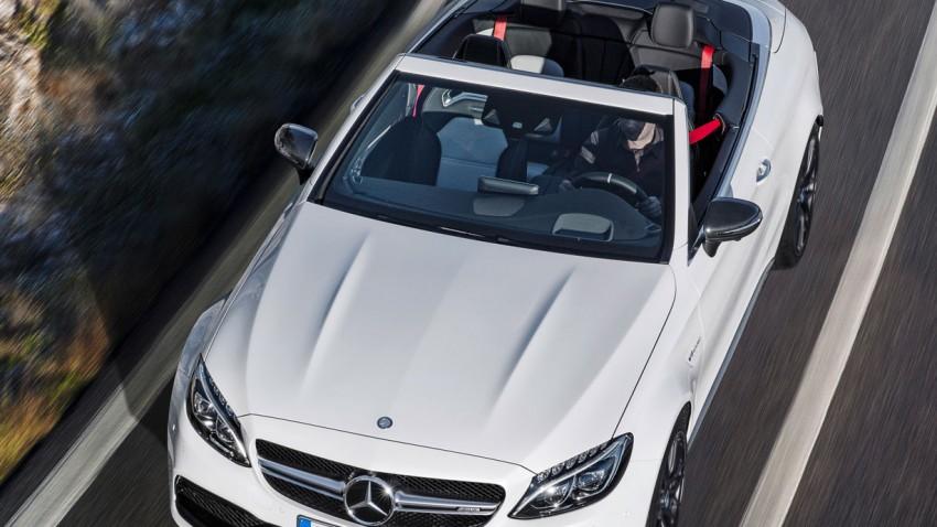 Mercedes AMG C 63 Cabrio: Der Sommer wird stark, laut und schwer