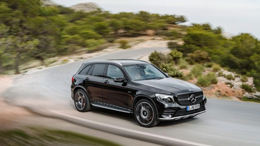 Auch Mercedes GLC als AMG mit Dreiliter-V6