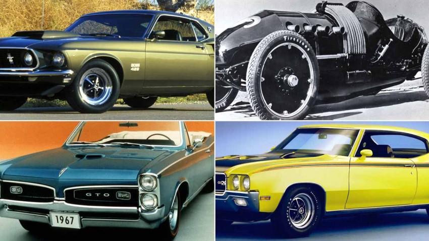 Die 6 wichtigsten Muscle Cars
